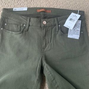 Joe's Jeans The Vixen Military Green NWT